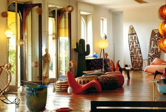 Local materials enhance Ethnic Look decor