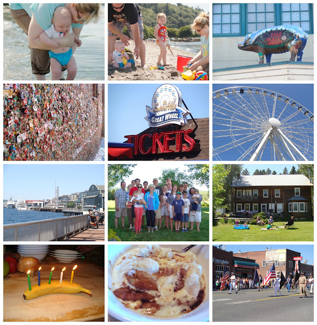 seattle must sees: gum wall, pike place market, ferris wheel, waterfront