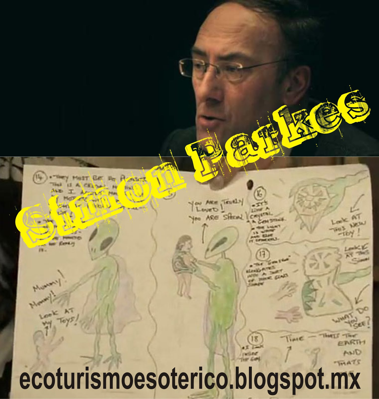Simon Parkes - ENTENDIENDO MUCHAS COSAS DE LOS EXTRATERRESTRES Y TODAS LAS AGENDAS