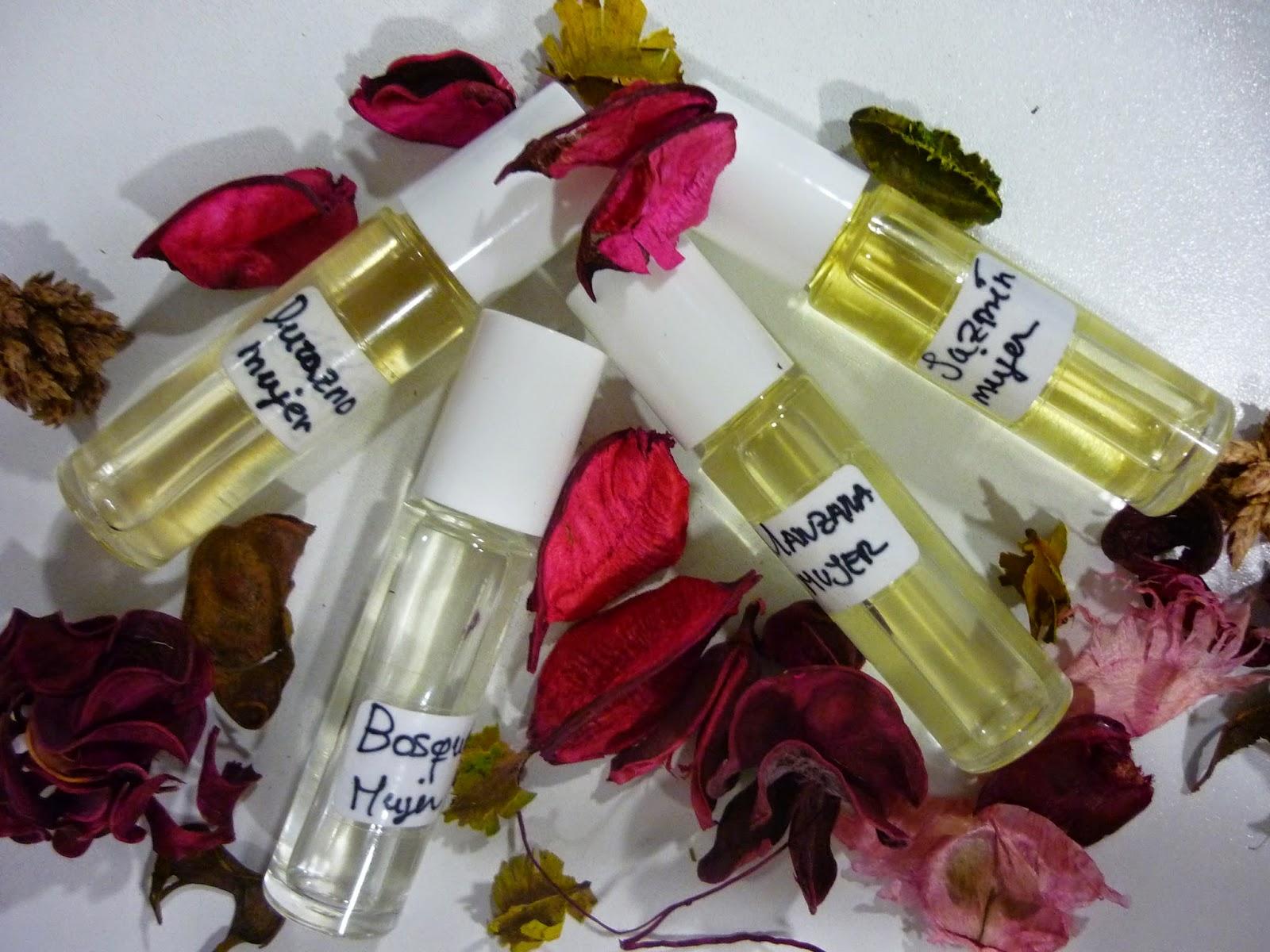 como hacer perfumes en aceite