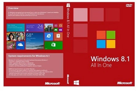 Download ISO Windows 8.1 Update 1 All In One April 2015