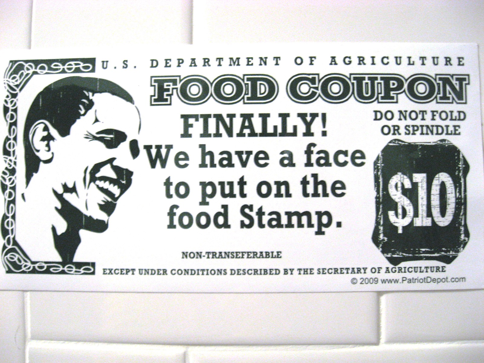 bama food stamps president