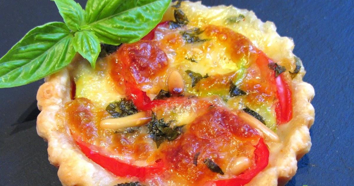 tomate sans graines cuisine bio et green attitude tartelettes feuillet es tomate courgette. Black Bedroom Furniture Sets. Home Design Ideas