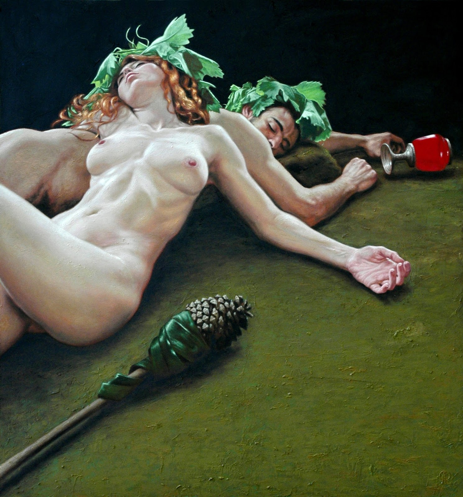 Baccanti, Carlo Alberto Palumbo (1976, Italian, Napoli)