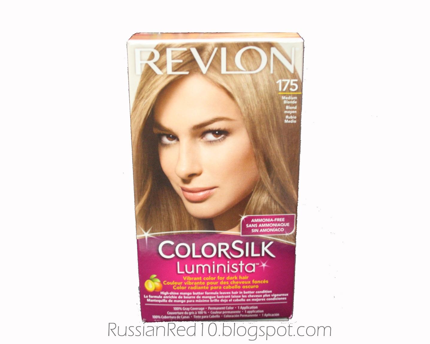The Face Guide Review Revlon Colorsilk Luminista In 175 Medium Blonde