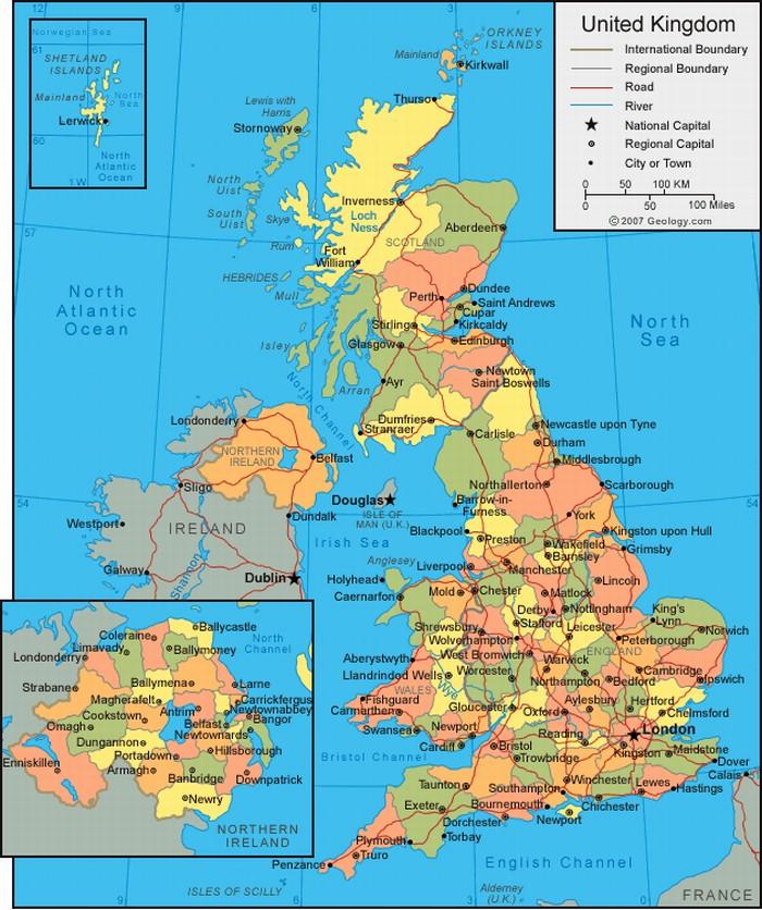 Ingiltere tarihi ve kültürel ekonomik gelişimi hakkında detaylı