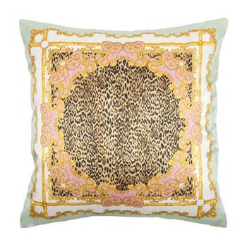 lush interiors news scarf print kissen von zara home. Black Bedroom Furniture Sets. Home Design Ideas