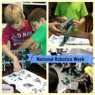 The Maker Mom: Robots! Join in on April 11 for #STEMchat