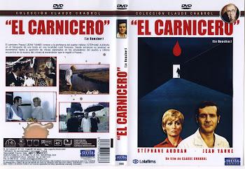 Carátula dvd: El carnicero (1970) (Le boucher)