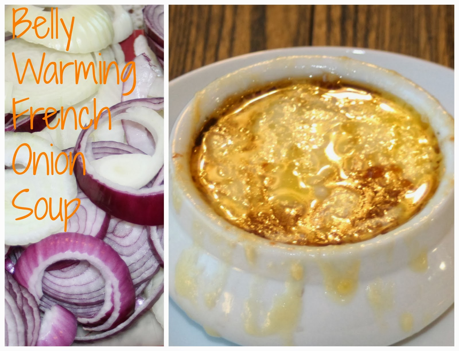 Happily Island After: Belly Warming French Onion Soup