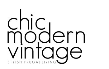 chic modern vintage | for Stylish Frugal Living