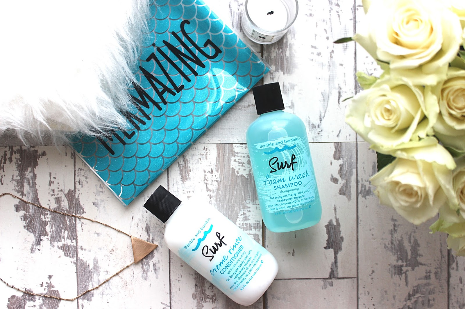 Bumble and bumble Surf shampoo and conditioner
