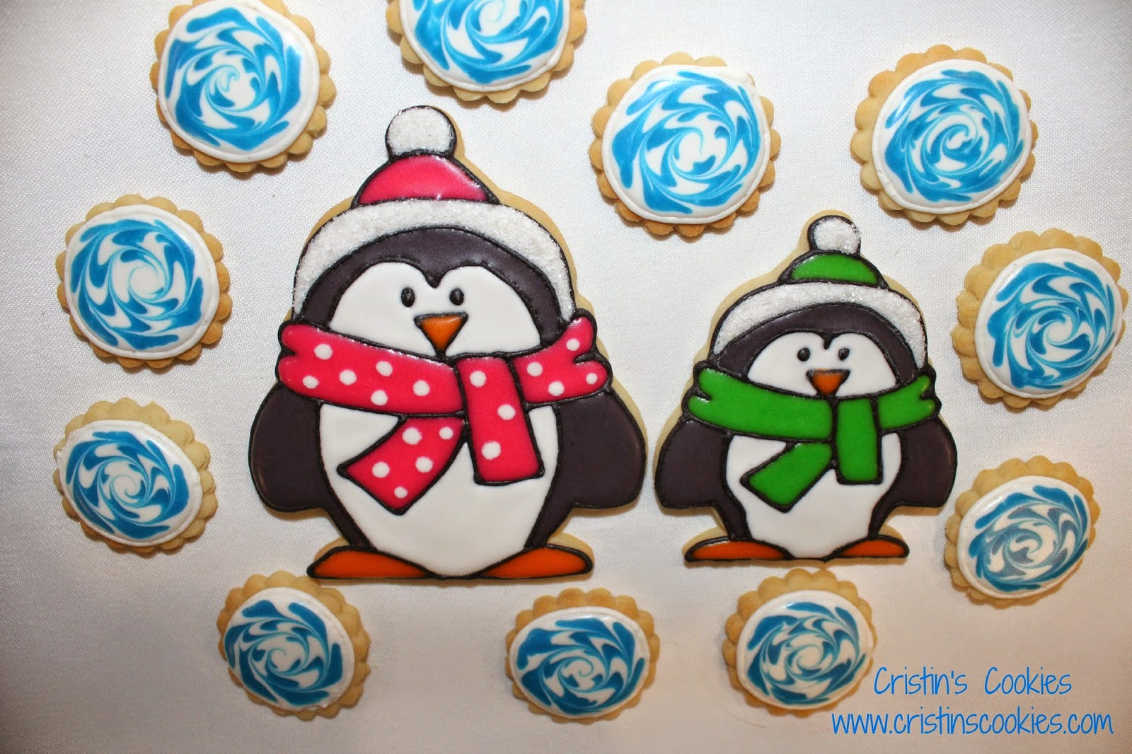 how to make penguin cookies