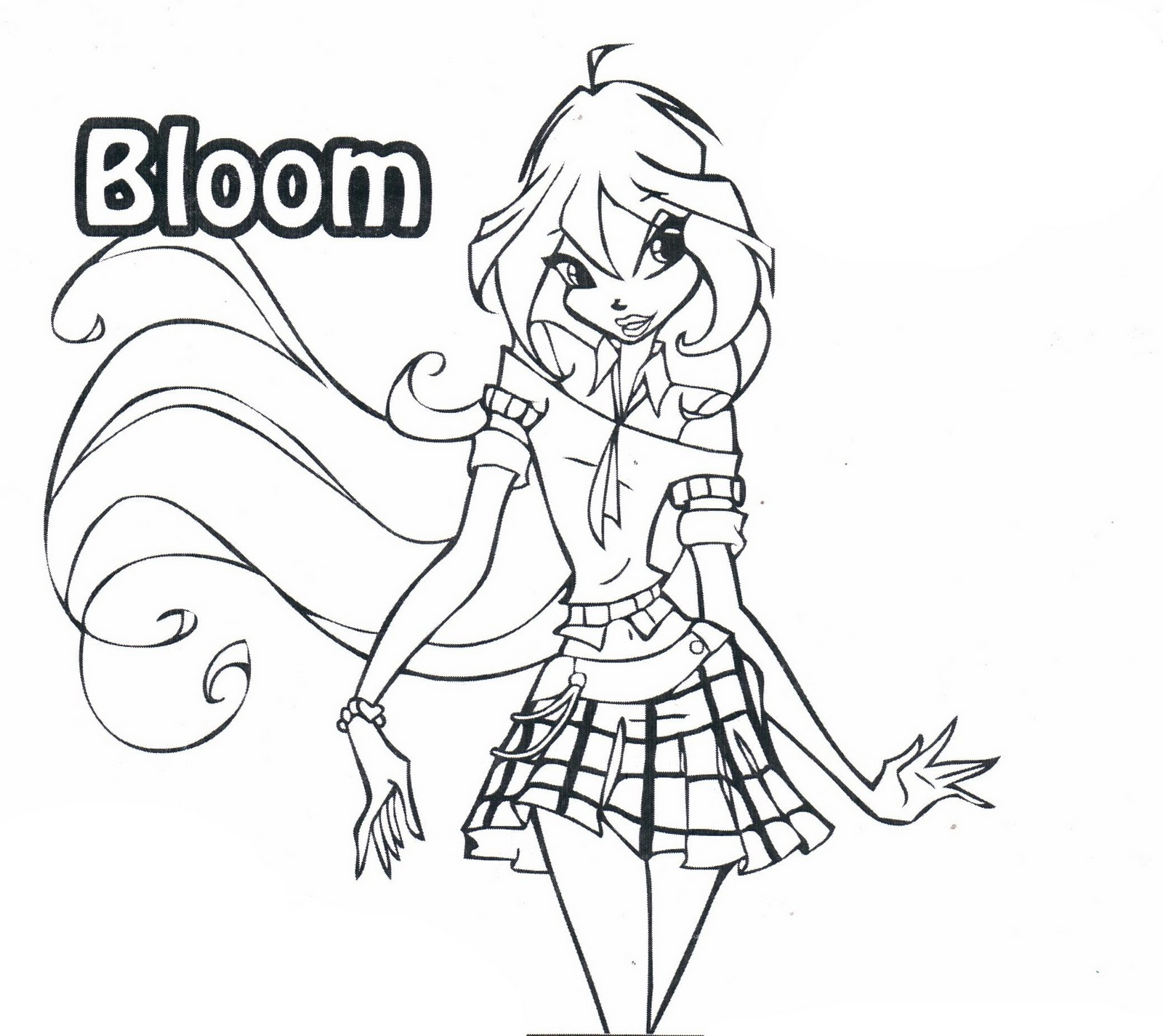 Coloriage de winx en ligne liberate - Coloriage winx bloom ...