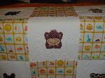 QFC Jungle Animal Quilt #2 - up close