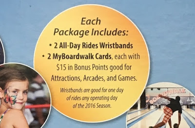 Save money and have fun with the Santa Cruz Beach Boardwalk Combo Pack (2016)