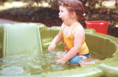 Throwback Thursday, #throwbackthursday, #tbt, baby pool, swimming, 1980s, 1980's