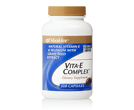 kulit dengan vitamin E