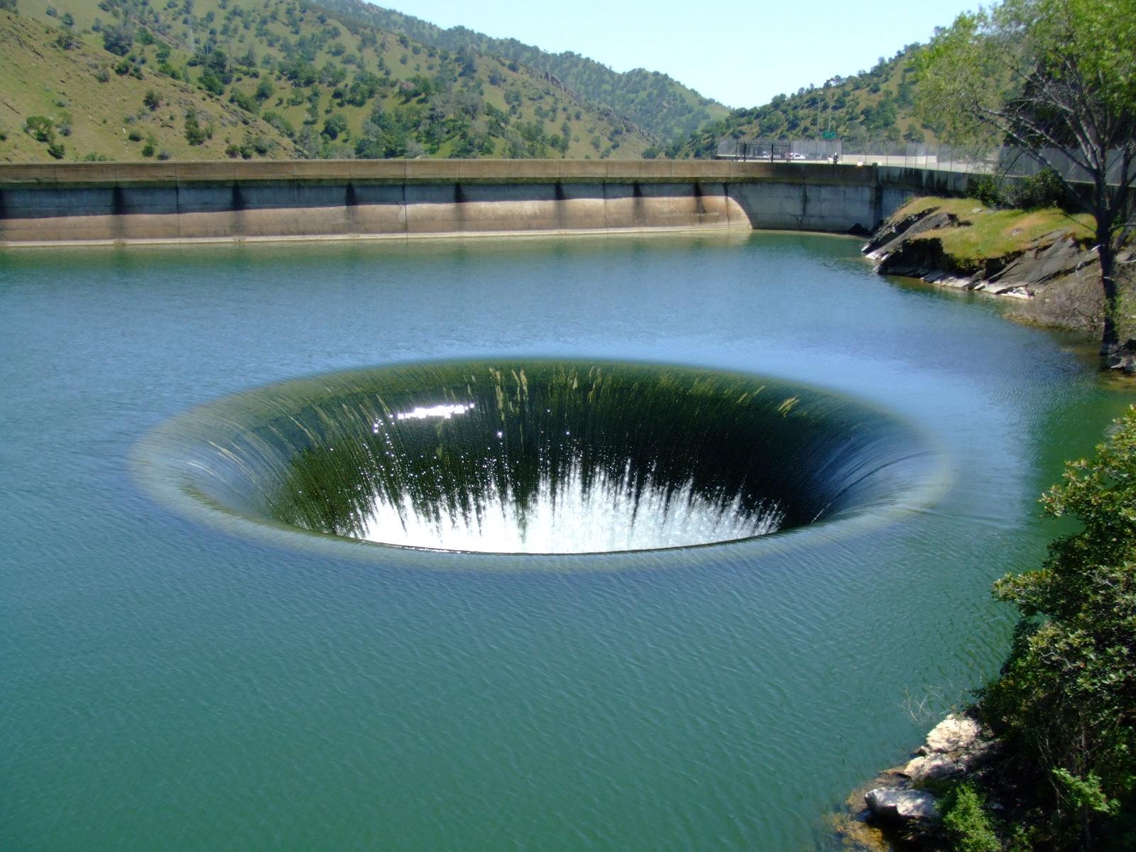 Berryessa lake glory hole
