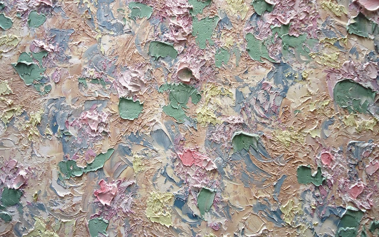 "See Cynthia's artwork here! [""More Hollyhocks"" (detail)]"