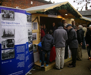 Sopwell Project at St Albans Christmas Market