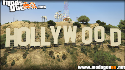 V - Placa Hollywood para GTA V PC