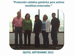 QUITO, ECUADOR, SEPTIEMBRE 2012