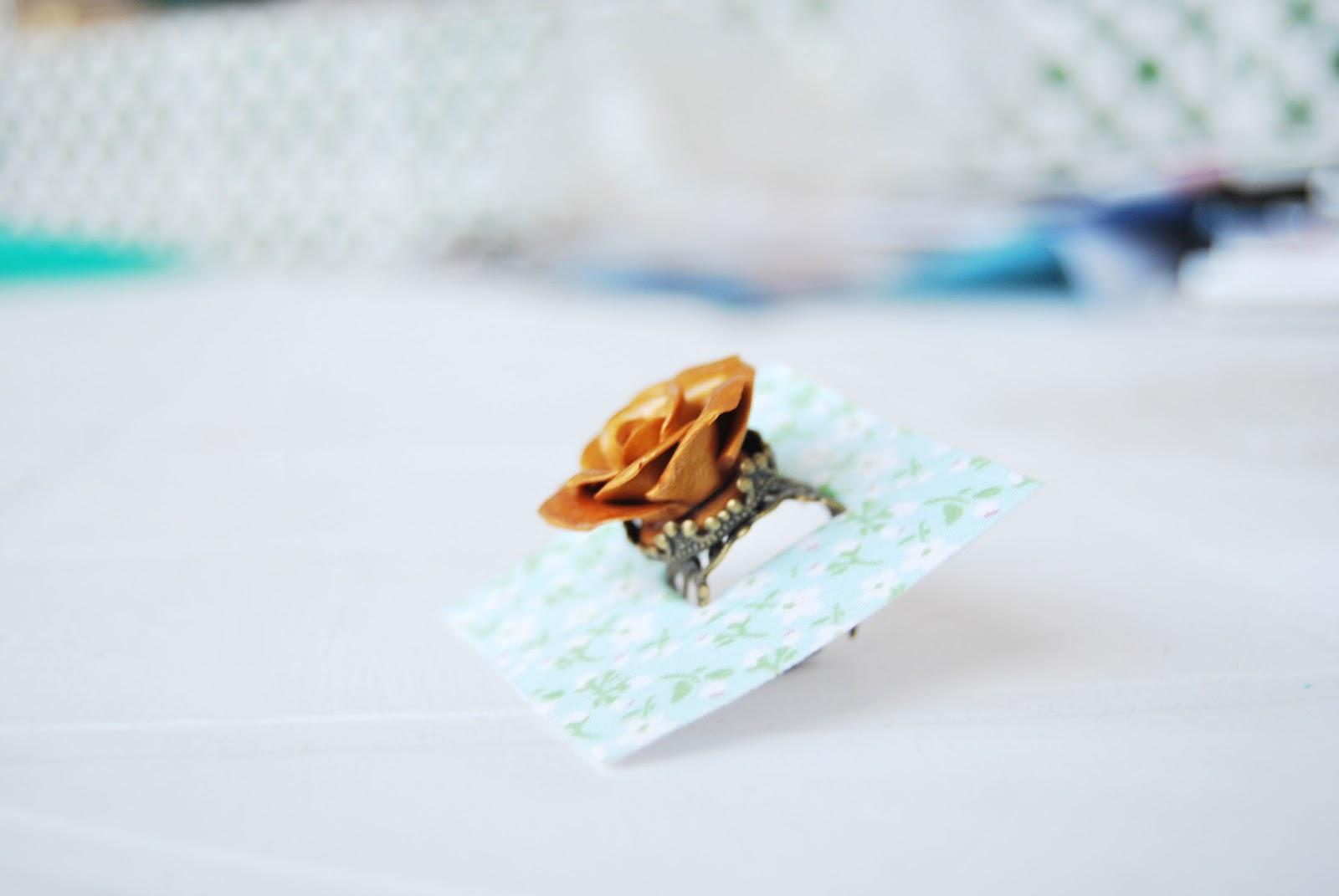 anillo artesanal packaging personalizado