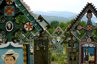 Merry Cemetery, in Romania