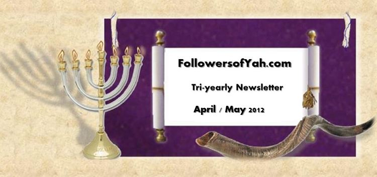 FollowersofYah.com Newsletter