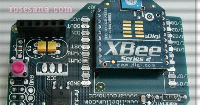 R hardware electronics arduino xbee shield