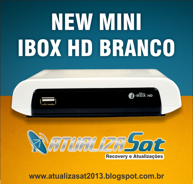 Nova Atualização New Ibox HD Mini Branco - 08/04/2013