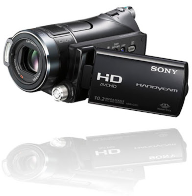 HD resolution sony handycam hdr-cx11e camcorder
