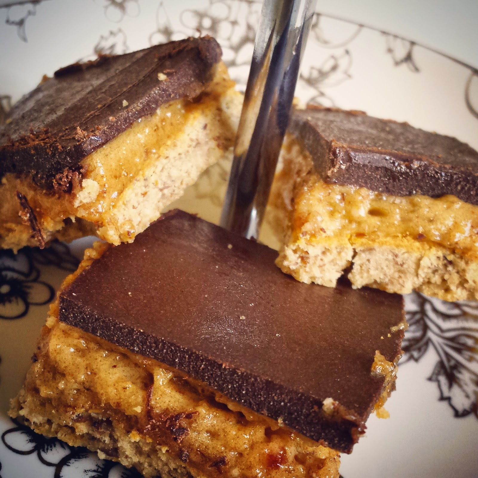 Healthilicious Twix Bars - version one...