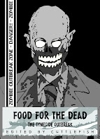 Food for the Dead Zombie Comic Cover