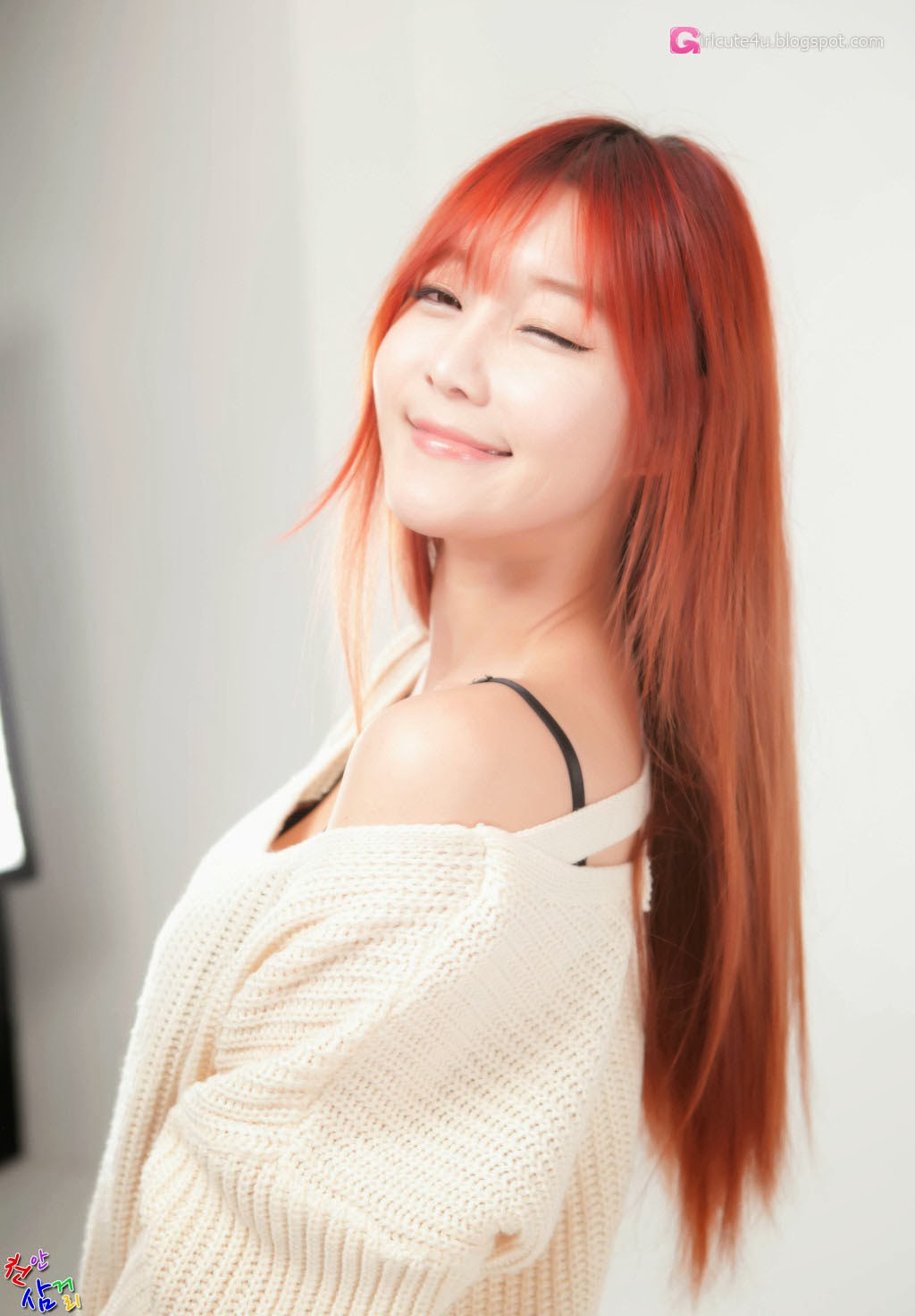 4 Choi Seul Ki - very cute asian girl-girlcute4u.blogspot.com