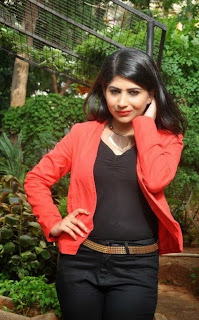 Actress Madhulagna Das Latest Pictures in Jeans at Hastashilpi Silk India Expo Launch  0019