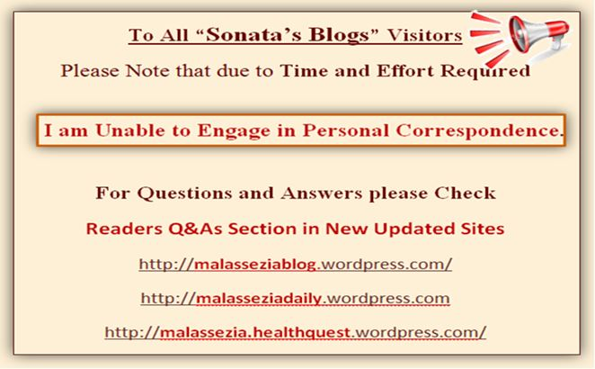 To ALL SONATA BLOG VISITORS