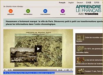 Apprendre le français : outils FLE