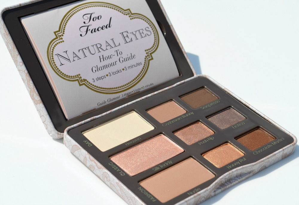 The Too Faced Natural Eyes Neutral Eyeshadow Collection Review