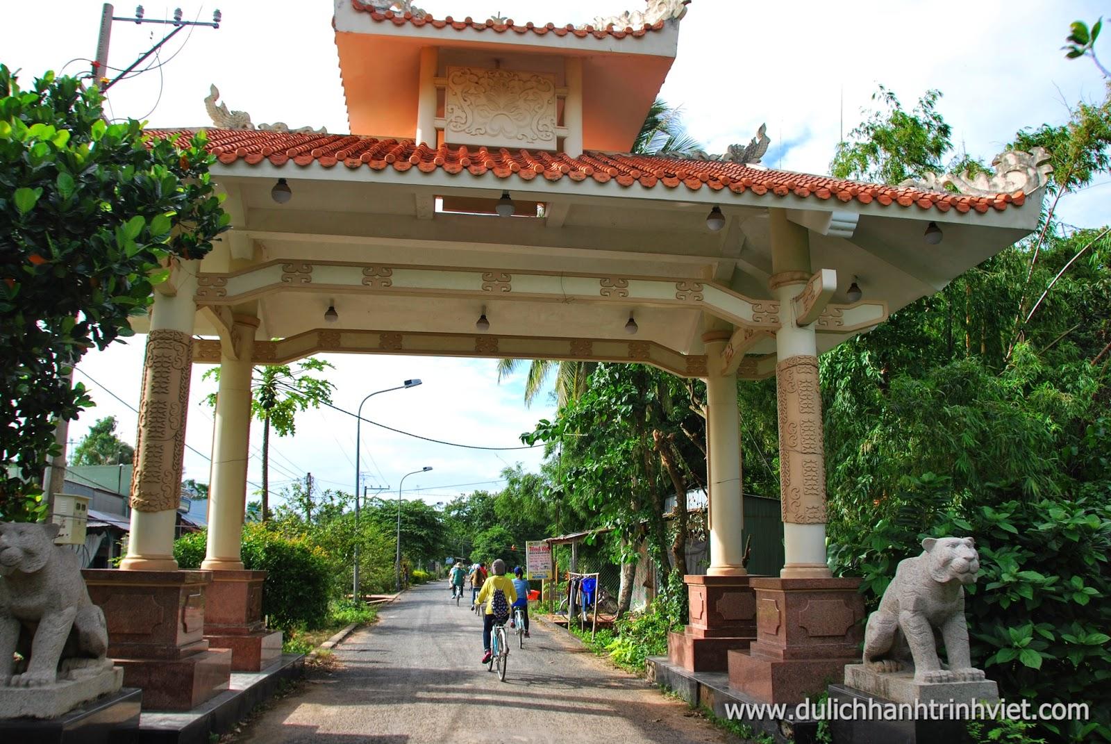 Tour xe đạp ở Cù lao Ông Hổ 2014