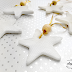| DIY Clay Star Christmas Decorations