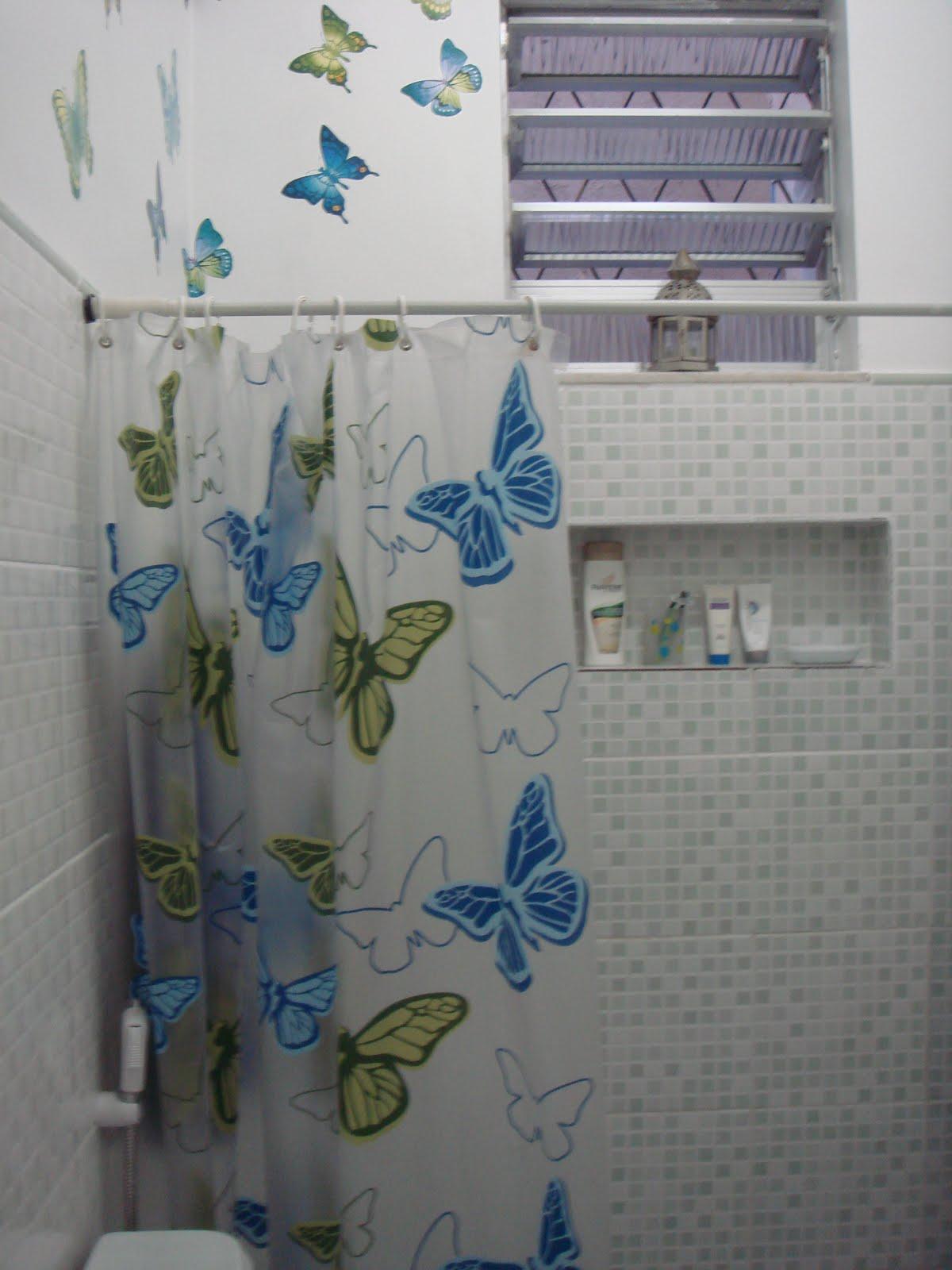 Imagens de #354A60 Fiz Um Nicho Para Colocar Shampoo Condicionador Sabonetes Pictures 1200x1600 px 3630 Banheiros Simples Reformados