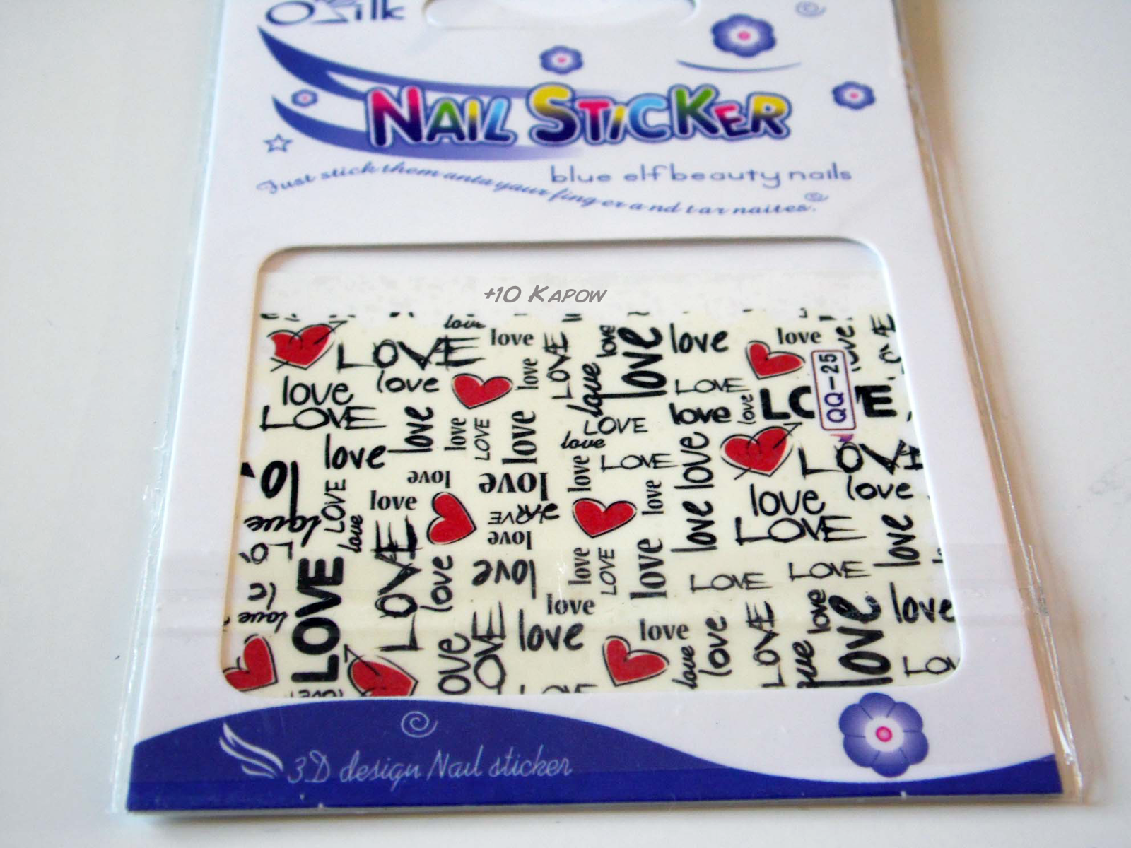 Plus10kapow love to love valentines nail art these decals come on a single sheet with no pre cut or pre shaped designs you do it yourself this sort of thing makes me happy it means that you can solutioingenieria Image collections