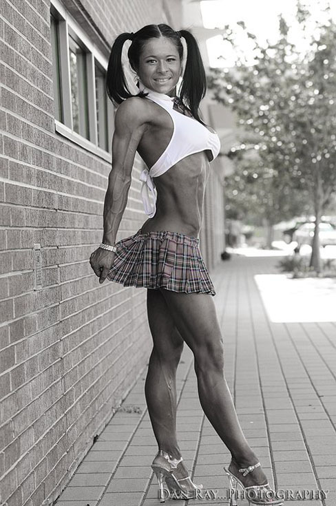 Cheri Nguyen Figure Competitor Female Muscle Bodybuilding Blog
