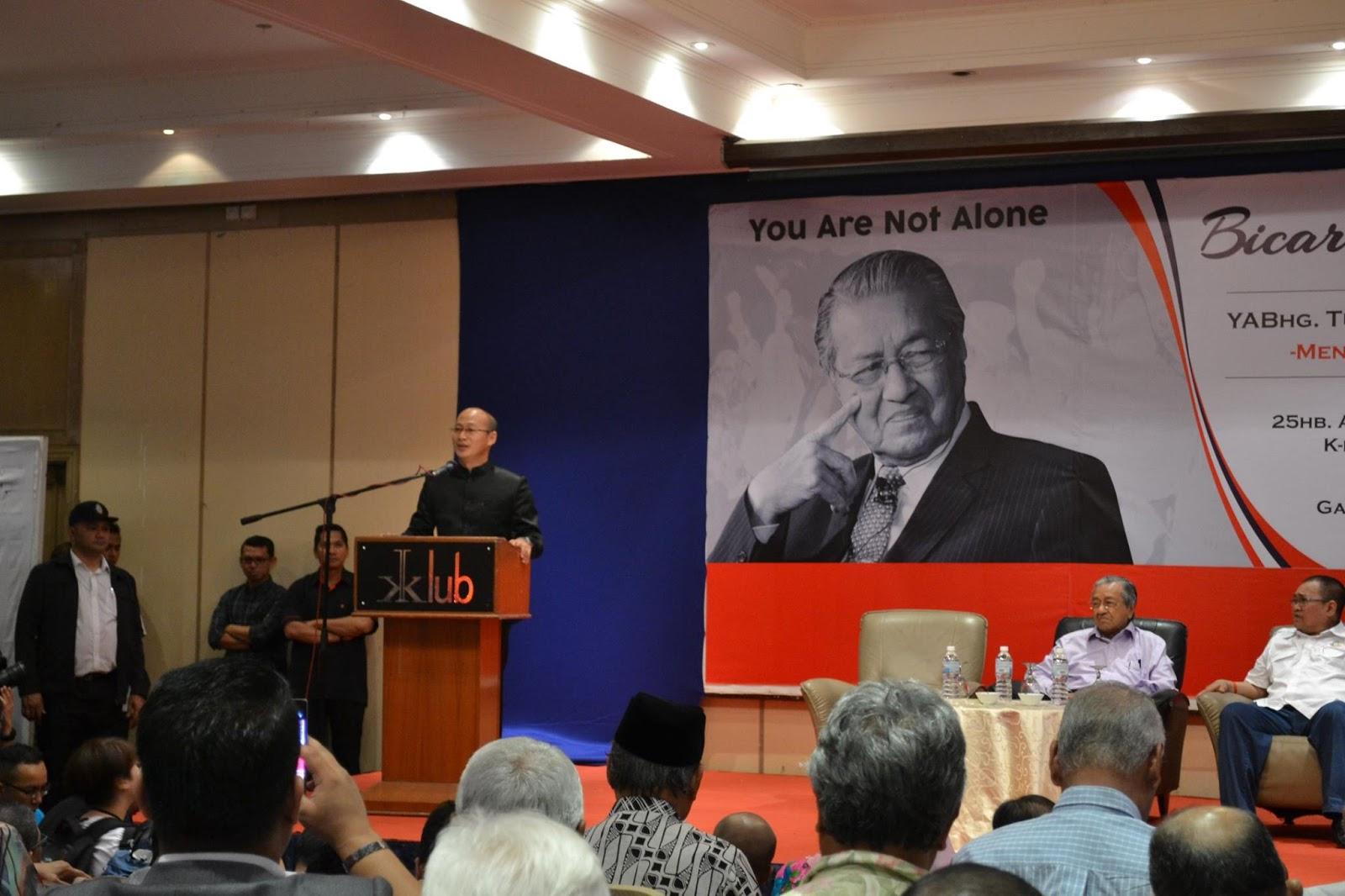 Tun Mahathir Mohamed Setuju Suruhanjaya Diraja Yang Dipilih Rakyat Ditubuhkan Siasat 1MDB