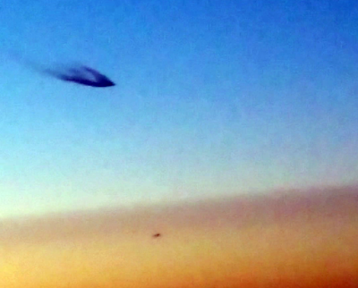 Huge Triangle UFO Mothership Caught Over Ocean 2015, UFO Sightings