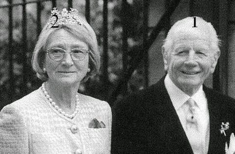 Siegfried et Irene, Fürst et Fürstin zu Castell-Rüdenhausen