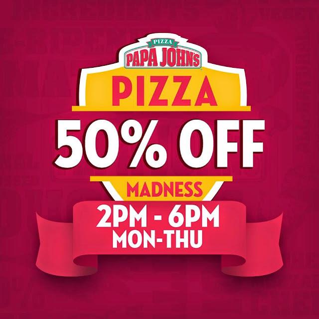 Papa John's Pizza Promos