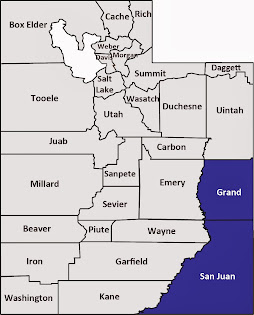 Grand and San Juan counties